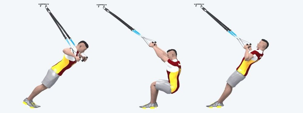 TRX Suspension Workout als PDF File für Zuhause