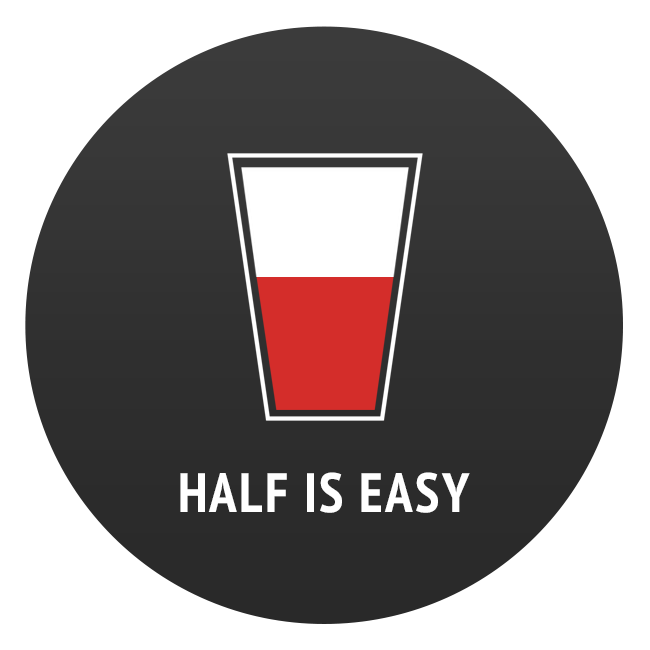 Half-Is-Easy
