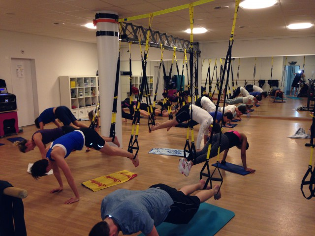Impressionen vom TRX Suspension Training in Bern