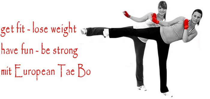 Ab September, TaeBo in unserem Trainingsraum